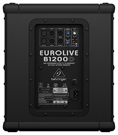 behringer eurolive b1200d pro subwoofer test 2018. Black Bedroom Furniture Sets. Home Design Ideas