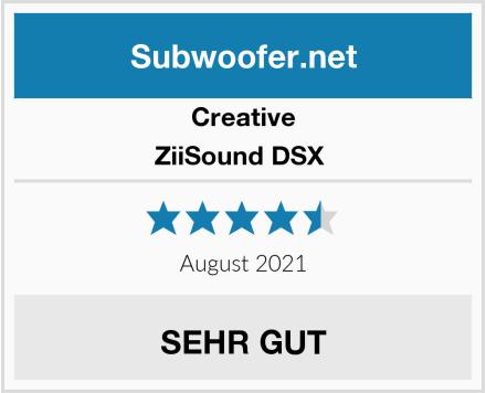 Creative ZiiSound DSX  Test