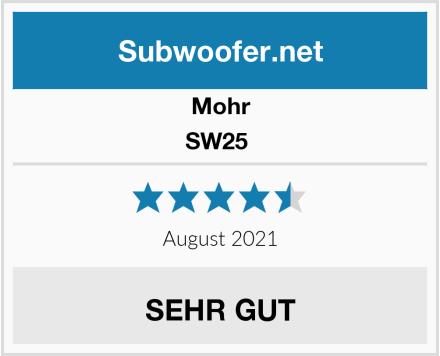 Mohr SW25  Test