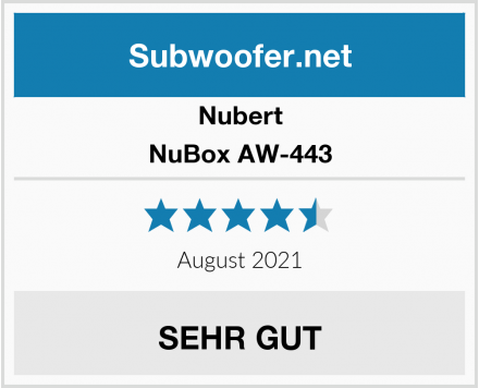 Nubert NuBox AW-443 Test