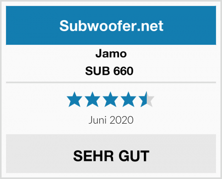 Jamo SUB 660  Test