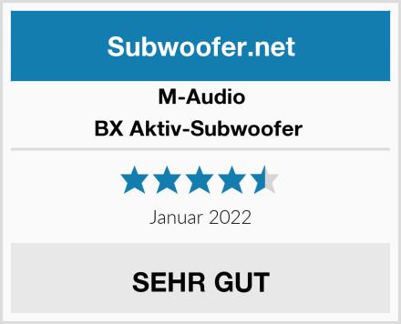 M-Audio BX Aktiv-Subwoofer  Test