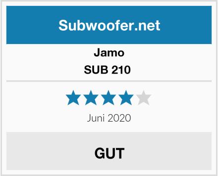 Jamo SUB 210  Test