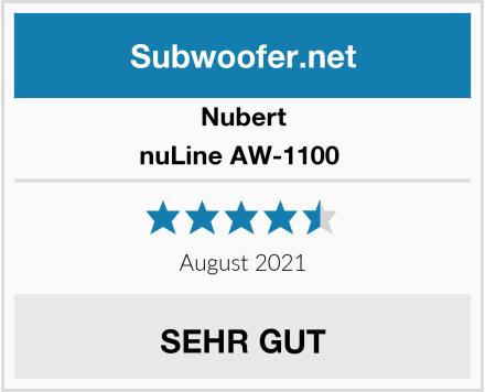 Nubert nuLine AW-1100  Test