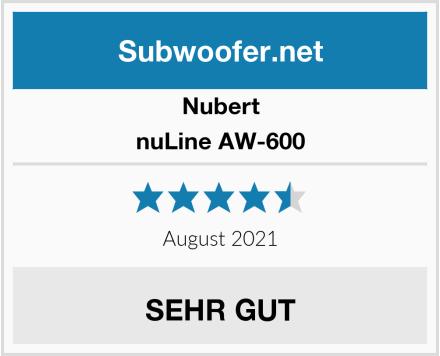 Nubert nuLine AW-600 Test