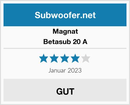 Magnat Betasub 20 A Test