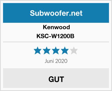 Kenwood KSC-W1200B  Test