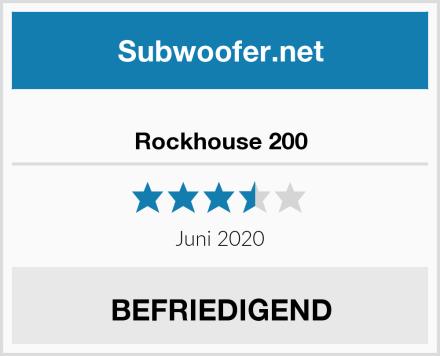 Rockhouse 200 Test