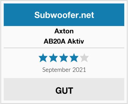 Axton AB20A Aktiv Test