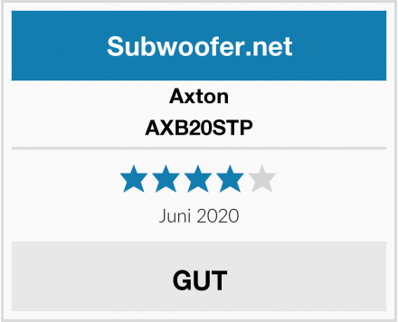Axton AXB20STP Test