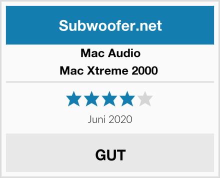 Mac Audio Mac Xtreme 2000  Test