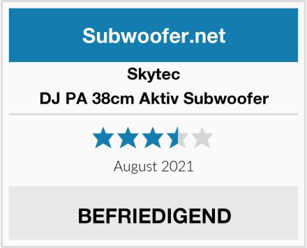 Skytec DJ PA 38cm Aktiv Subwoofer Test