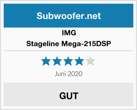 IMG Stageline Mega-215DSP Test