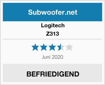 Logitech Z313 Test