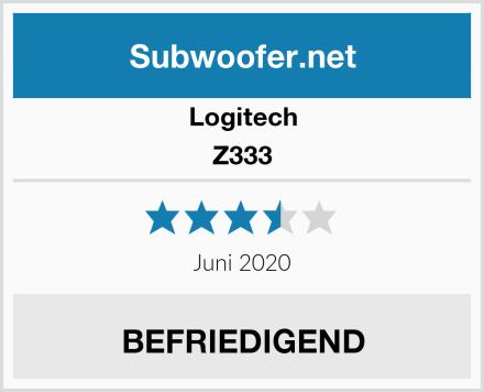 Logitech Z333 Test