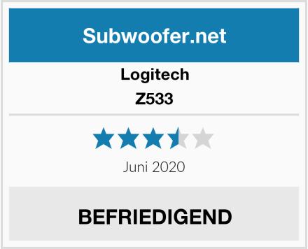 Logitech Z533 Test