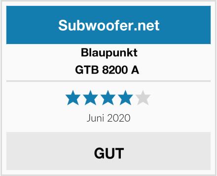 Blaupunkt GTB 8200 A  Test