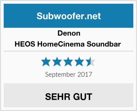 Denon HEOS HomeCinema Soundbar  Test