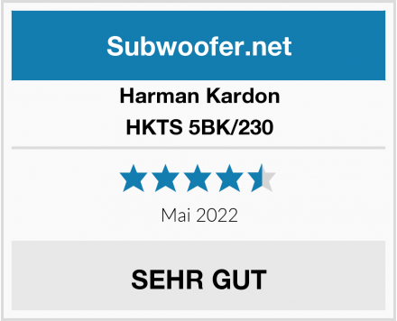 Harman Kardon HKTS 5BK/230 Test