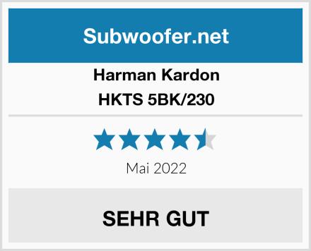 Harman Kardon HKTS 5BK/230 Test
