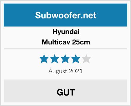 Hyundai Multicav 25cm Test