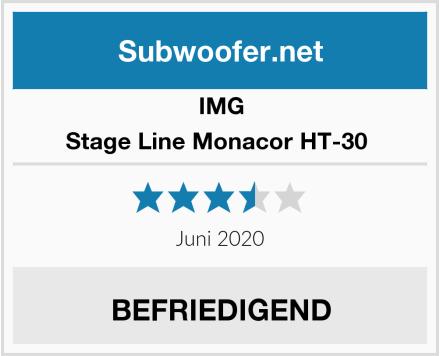 IMG Stage Line Monacor HT-30  Test