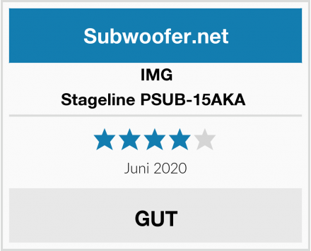 IMG Stageline PSUB-15AKA  Test
