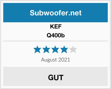 KEF Q400b Test