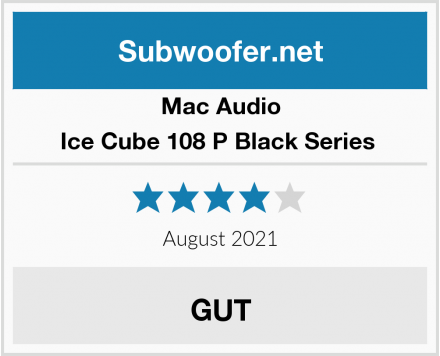Mac Audio Ice Cube 108 P Black Series  Test