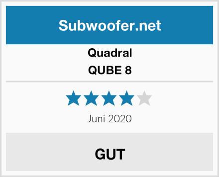 Quadral QUBE 8 Test