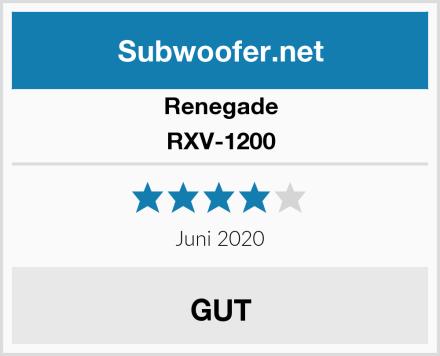 Renegade RXV-1200 Test
