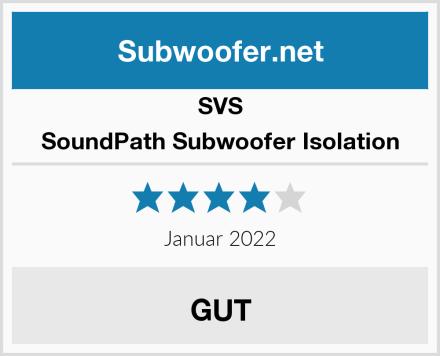 SVS SoundPath Subwoofer Isolation Test