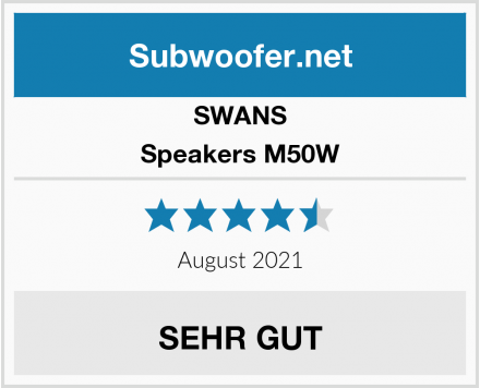 SWANS Speakers M50W Test