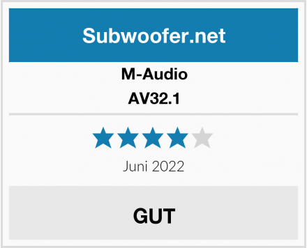 M-Audio AV32.1 Test