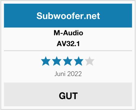 M-Audio AV32.1 Test