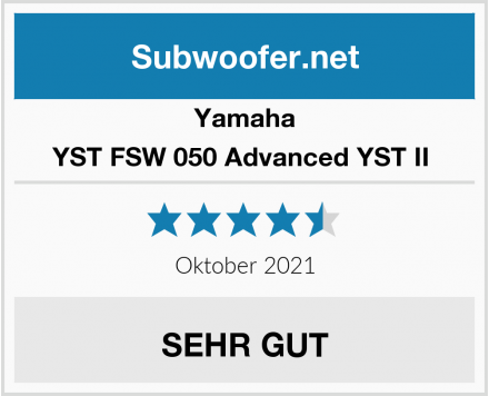 Yamaha YST FSW 050 Advanced YST II  Test