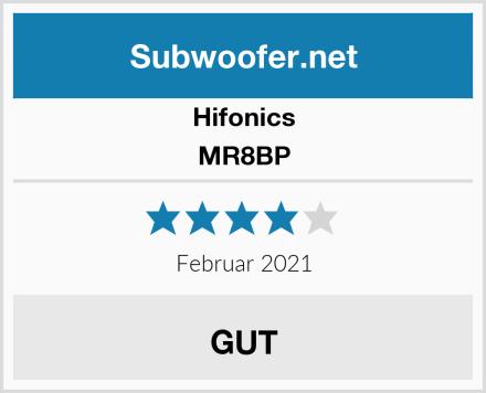 Hifonics MR8BP Test