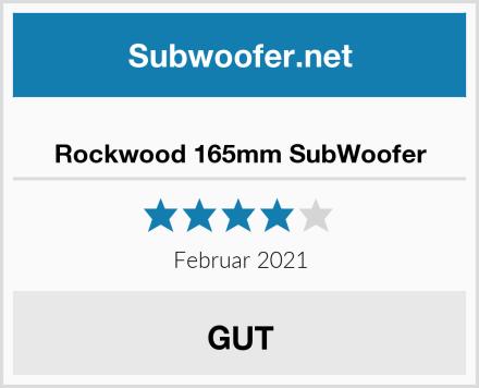 Rockwood 165mm SubWoofer Test