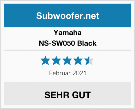 Yamaha NS-SW050 Black Test