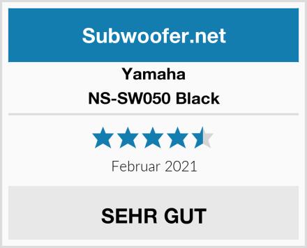 Yamaha NS-SW050 Black Test