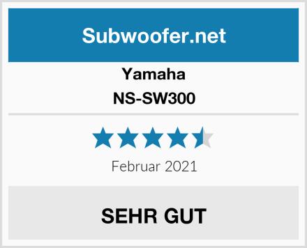 Yamaha NS-SW300 Test