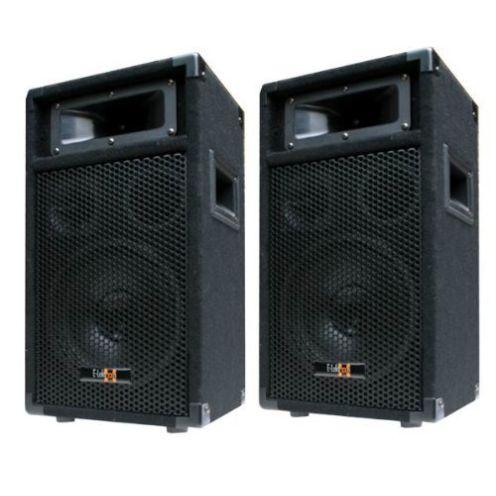 E-Lektron 2X 600W DJ PA Subwoofer